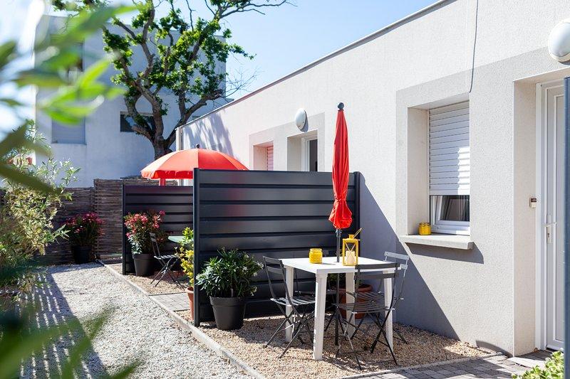 ☀️SPÉCIAL Famille ❤ Couples location maison gd studio terrasse proche plage mer, location de vacances à Saint-Nazaire