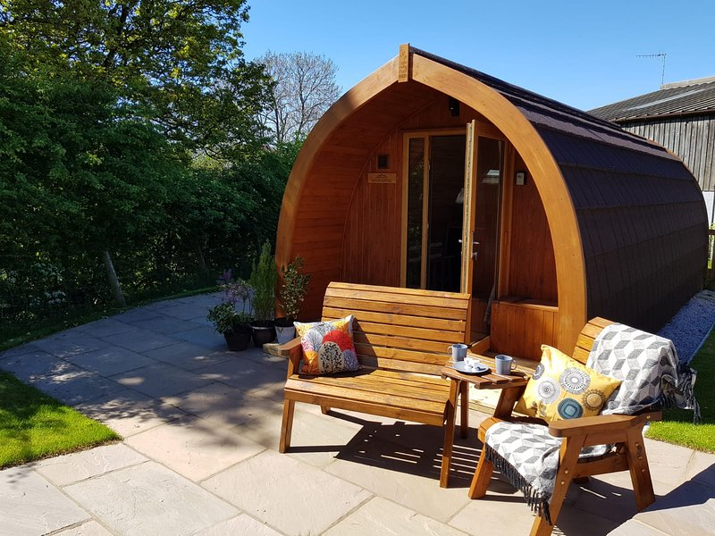 Douk Ghyll Glamping Pod - Ribblesdale Pods, casa vacanza a Horton-in-Ribblesdale
