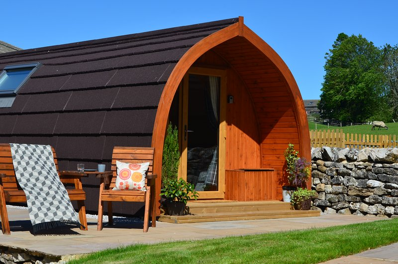 Ribble Glamping Pod - Ribblesdale Pods, casa vacanza a Horton-in-Ribblesdale