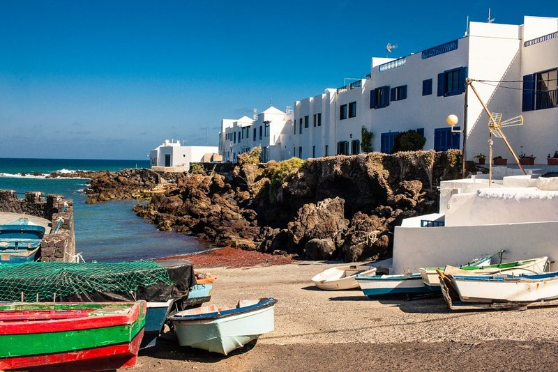 Ferienhaus in erster Linie am Meer