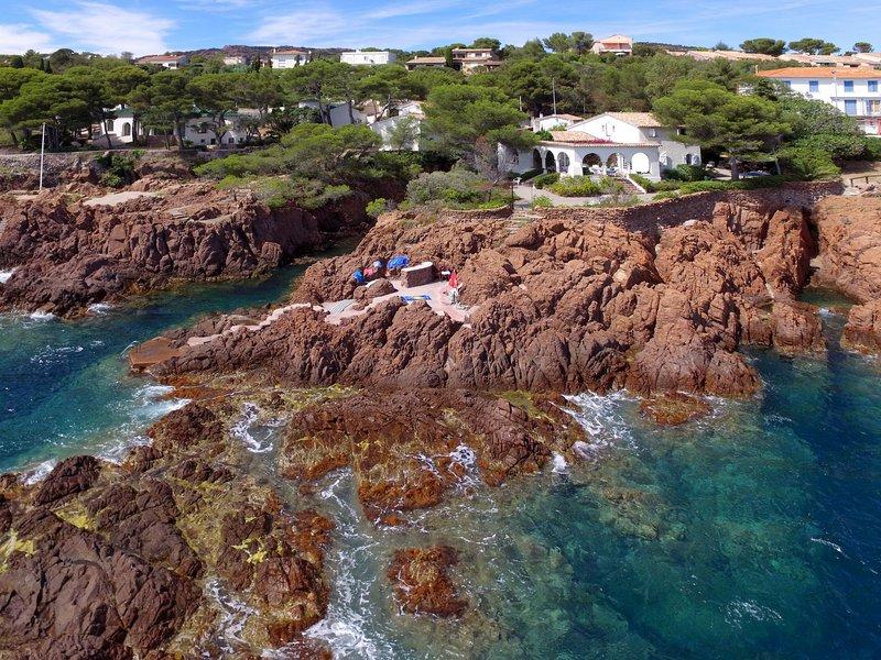 Maison La Proue (AGY135), vacation rental in Agay