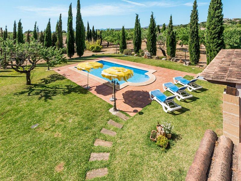 Sa Caseta del Padri Biel (BIN120), holiday rental in Lloseta