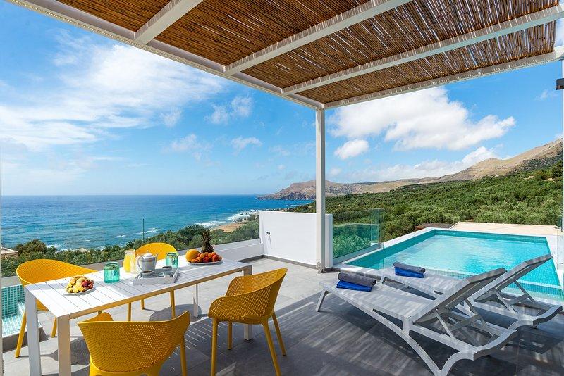 The Nest villa in Sfinari west of Crete – semesterbostad i Amigdhalokefali