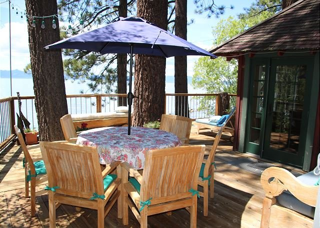 A part of Tahoe History, Original Lake Front Red Cabin (ZC1298), holiday rental in Carson City