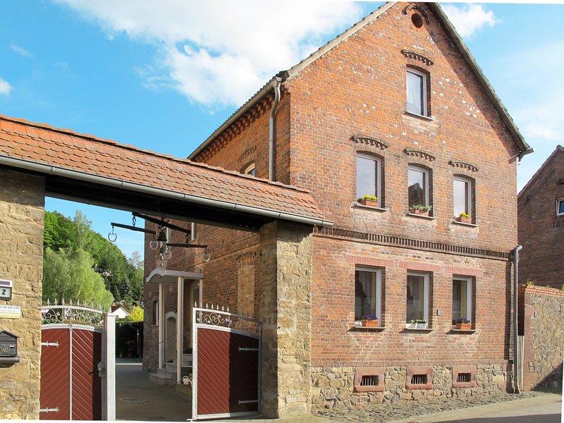An der Eine, holiday rental in Meisdorf