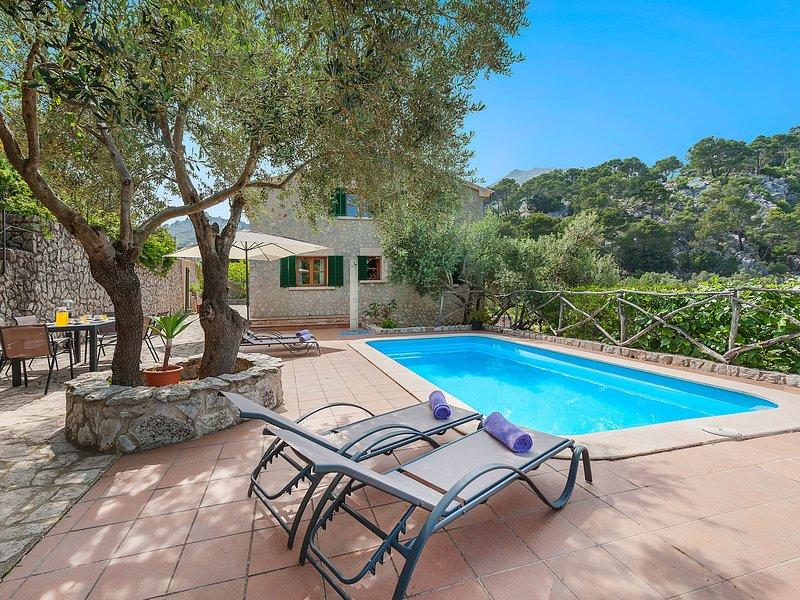 Es Barracar (CMI105), holiday rental in Sa Calobra