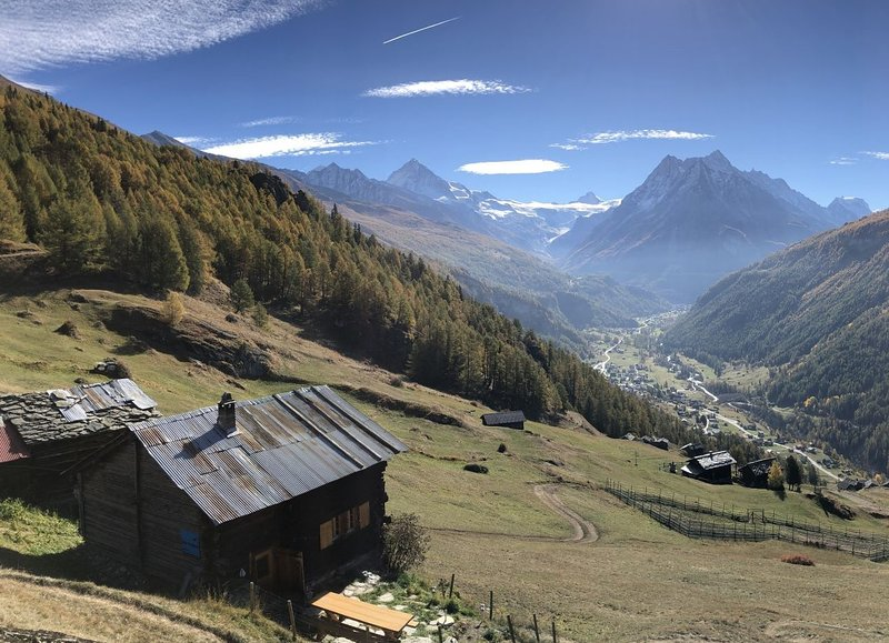 Chalet Nid d'Aigle, un vrai mayen isolé - The Eagle's Nest, isolated cabin, holiday rental in Canton of Valais