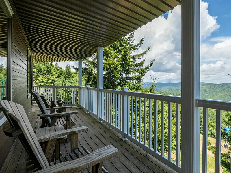 Spend your time relaxing on the deck!