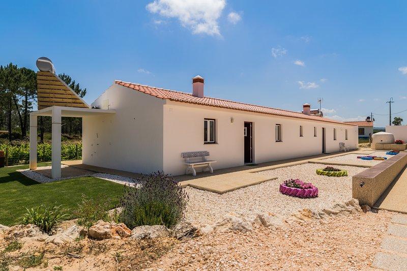 Lycium Blue Villa, Aljezur, Algarve, holiday rental in Rogil