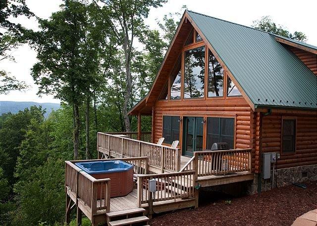 Mountain Cabin,Views,WiFi,HotTub,Grill,Fireplace,Deck, holiday rental in Ferguson