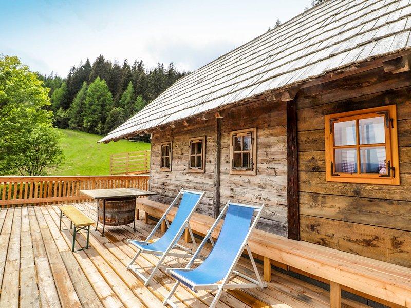 Panoramahütte, alquiler vacacional en Kliening