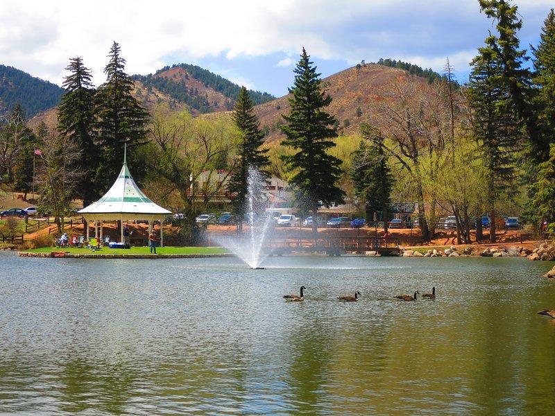 COLORADO MOUNTAIN RETREAT: GREAT VIEWS AND LOCATION, location de vacances à Chipita Park