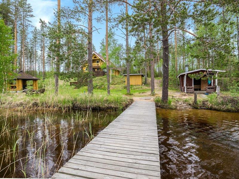 Aurinkoranta, vacation rental in Toivakka