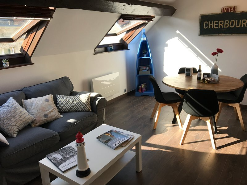 Cherbourg Maritime, holiday rental in Brix