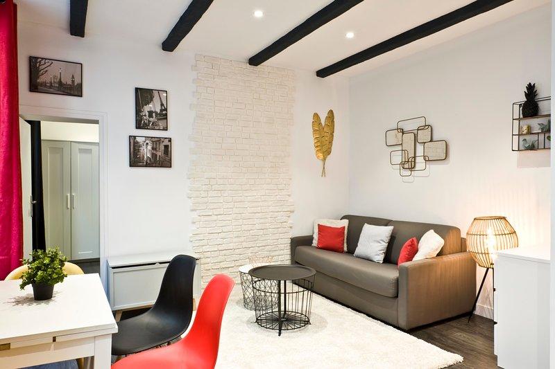 A Trendy Apartment in the Higher Marais, location de vacances à Paris