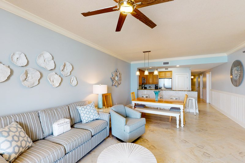 Gulf Front Condo! Pools Onsite, Nearby Activities, Shops, Restaurants!, holiday rental in Fort Walton Beach