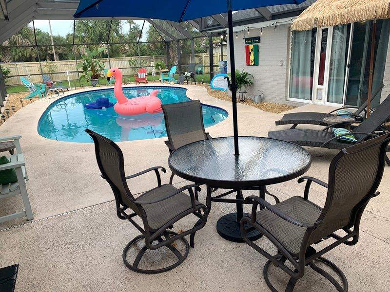 oversized Unheated Pool