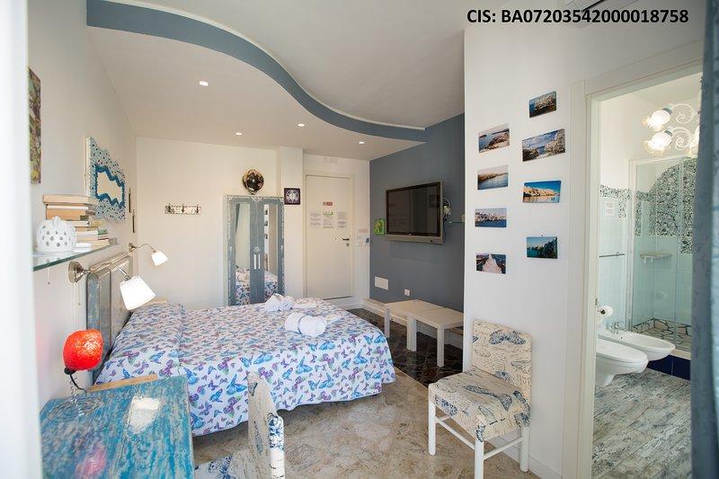Versomare - Room Scirocco - Cis Ba, alquiler vacacional en San Vito
