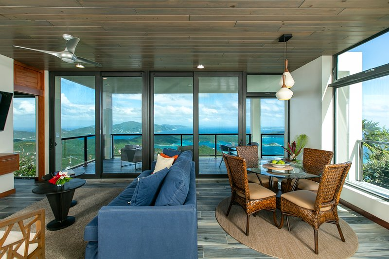 Calichi at Picture Point- The Papaya House, vacation rental in Virgin Islands National Park