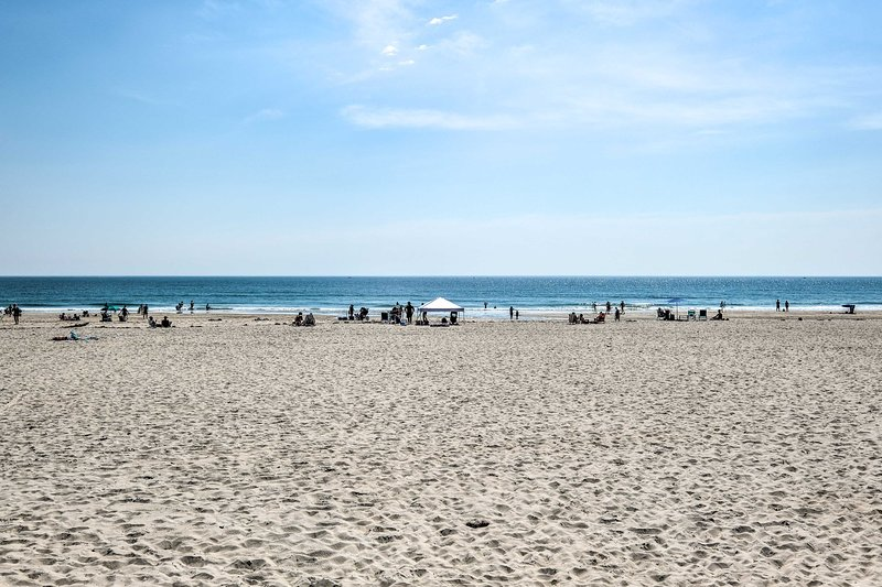 You'll have miles of pristine beach at your disposal just across the way.