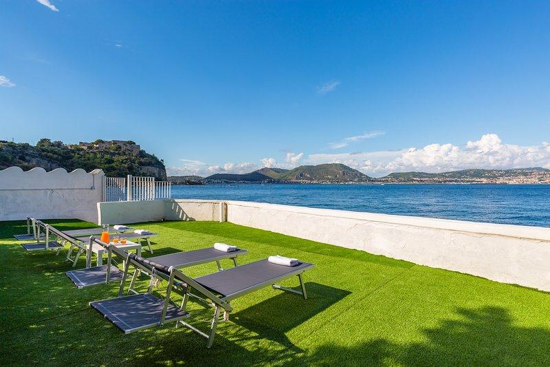Appartamento in villa a Bacoli III, vakantiewoning in Varcaturo
