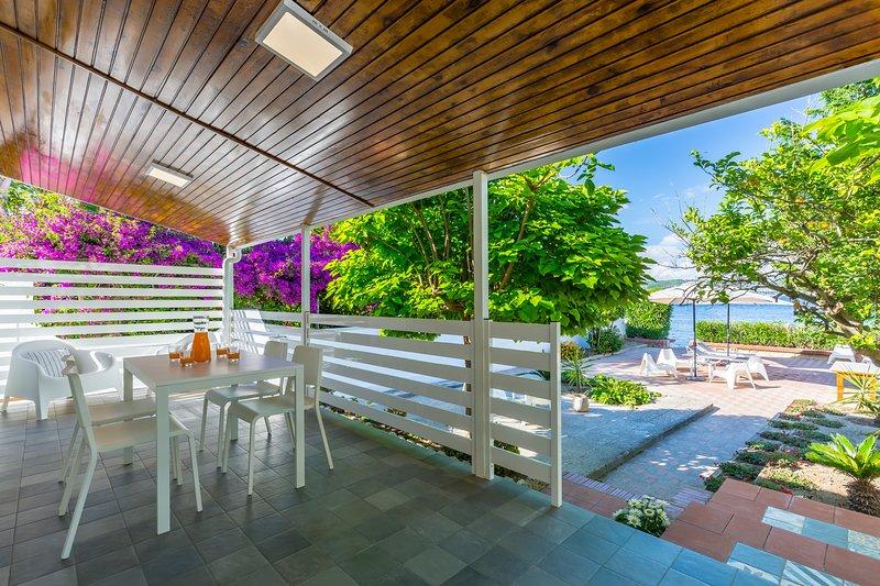 Appartamento in villa a Bacoli II, vakantiewoning in Varcaturo