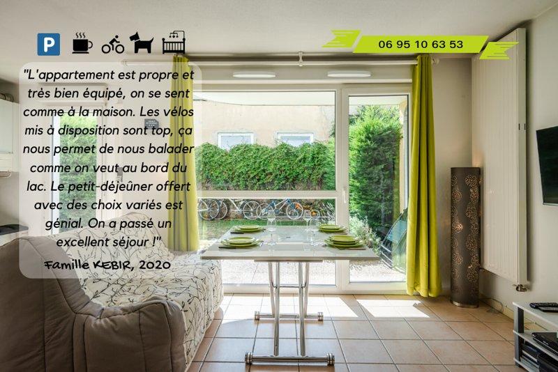 CONFORT GARANTI - VELOS/JARDIN/PETIT-DEJ, vacation rental in Thonon-les-Bains