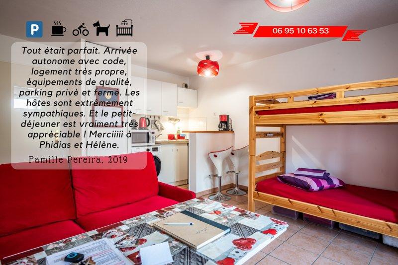 CONFORT GARANTI - VELOS/PARKING/PETIT-DEJ, vacation rental in Thonon-les-Bains