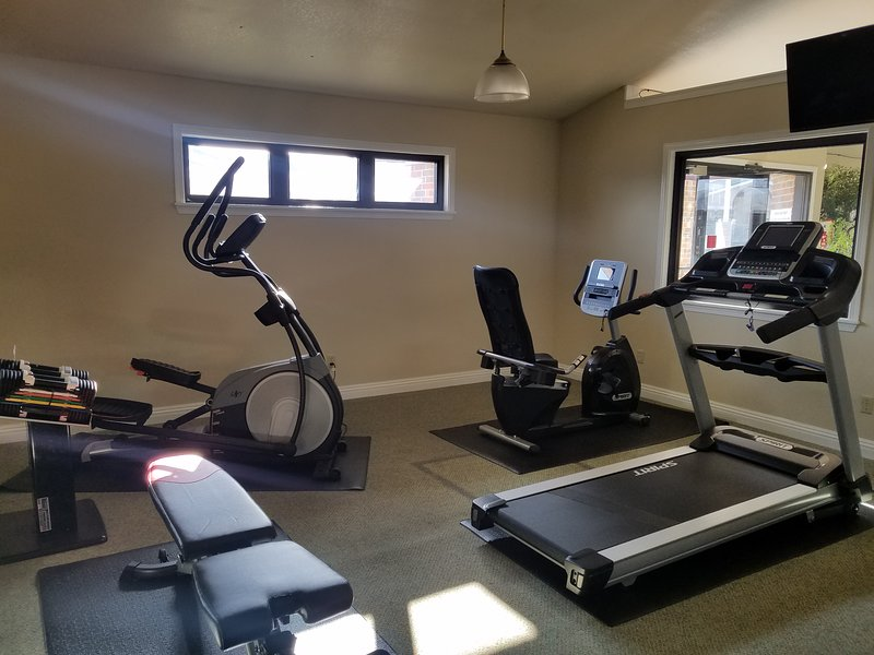 New Fitness Room at the Clubhouse.