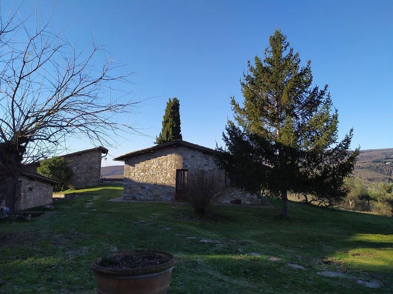 Appartamento gaia - Radda in Chianti, location de vacances à Volpaia