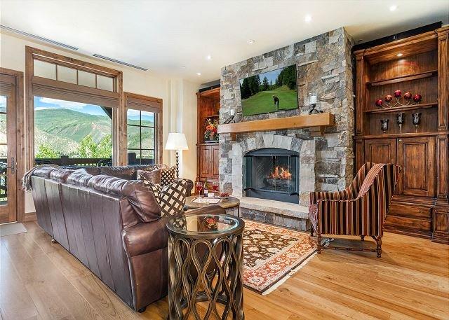 Luxury, Ski-in/out Beaver Creek Landing Condo with Pool, Hot Tubs, Fire Pit, holiday rental in Beaver Creek