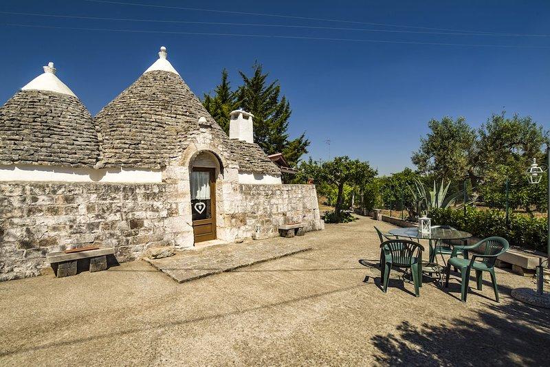 i trulli di San Nicola, vacation rental in Castellana Grotte