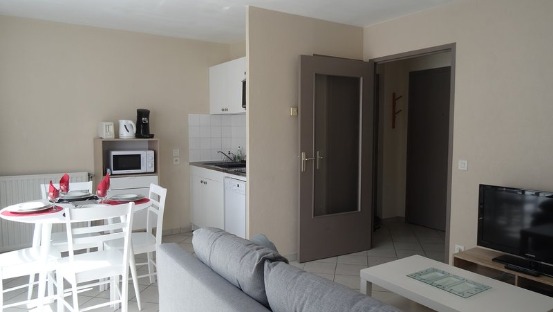Appartement T2 standing tout confort avec balcon + parking, holiday rental in Venissieux