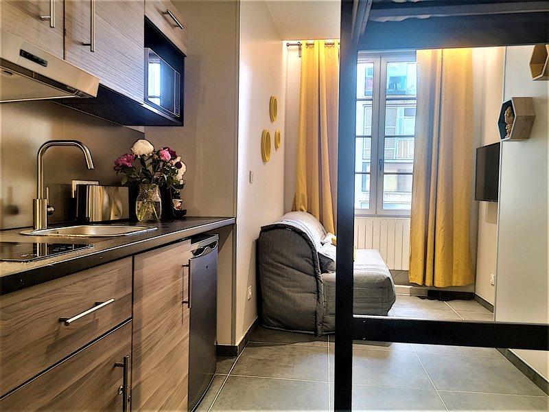 MEZZO - Studio tout confort secteur de Perrache, holiday rental in Montagny