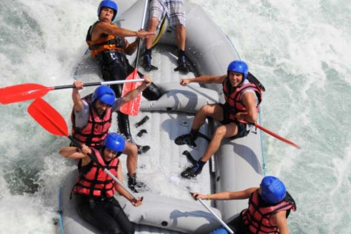 Enjoy some whitewater action, ziplining and ropes courses at the US National Whitewater Center in Charlotte.