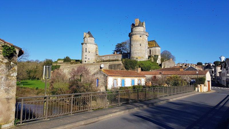 Chateau du Apremont in February