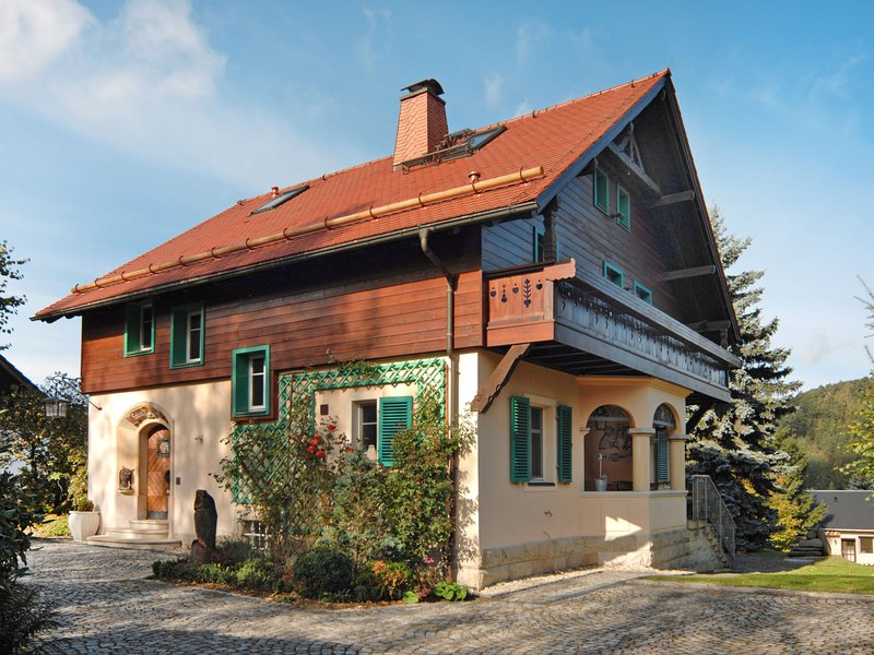 Villa Eulenglück (OYN100), holiday rental in Mnisek