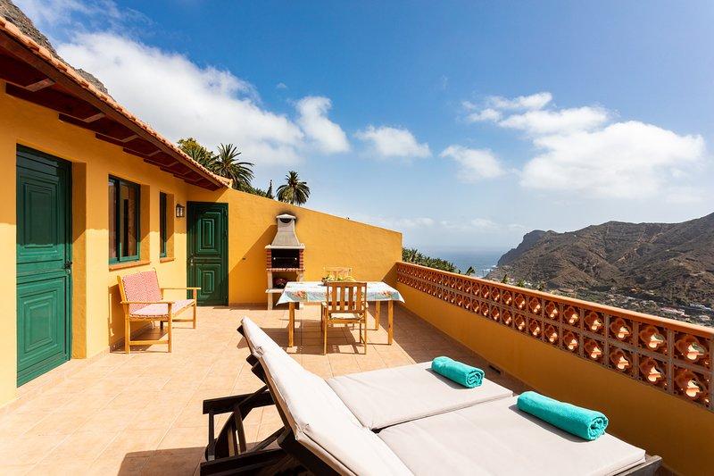 Home2Book Stunning View La Era3 de Hermigua & Wifi, aluguéis de temporada em Agulo
