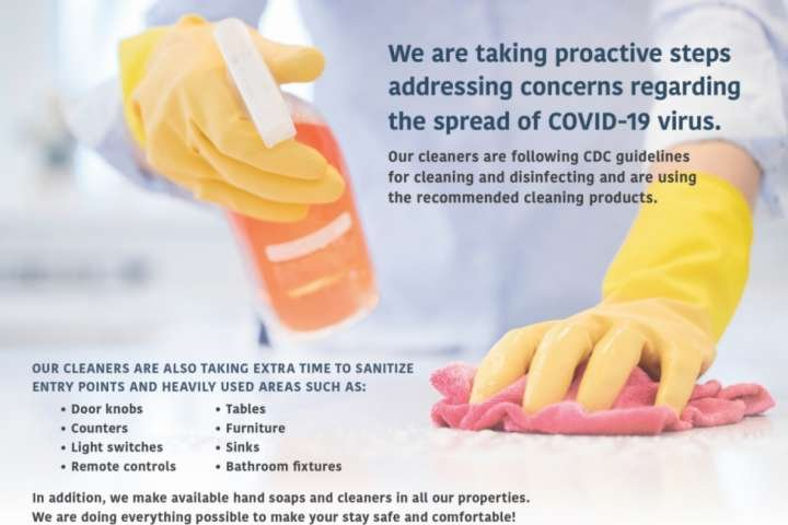 CDC Cleaning Guidelines