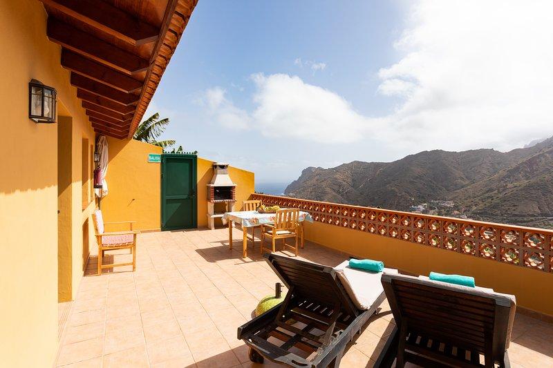 Home2Book Stunning View La Era4 de Hermigua & Wifi, aluguéis de temporada em Agulo
