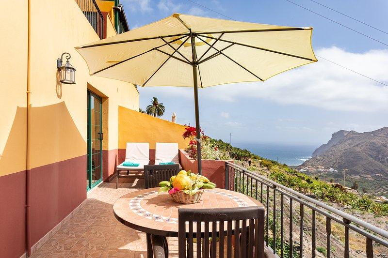 Home2Book Stunning View La Era1 de Hermigua & Wifi, aluguéis de temporada em Agulo