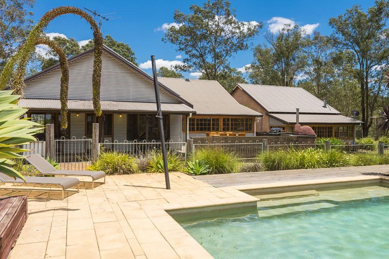 Hunter Valley Accommodation - Dalwood Country House - Dalwood - Outdoor Entertaining Area