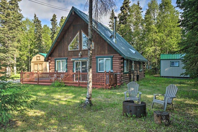 NEW! Blind Bear Lodge ~1 Mi to Kenai River Fishing, location de vacances à Kenai