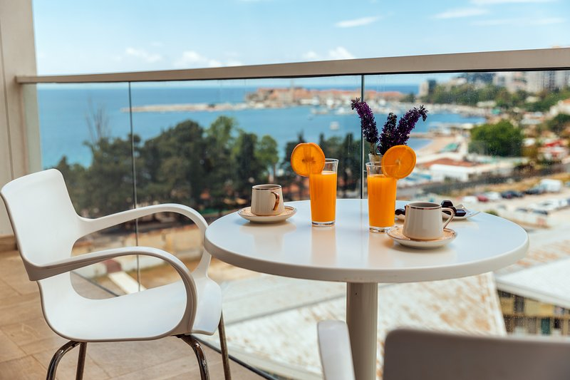 Luxury Apartments Artiani -  One Bedroom Apartment with Sea View 258, vacation rental in Budva