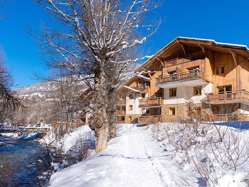 Le Hameau du Rocher Blanc, holiday rental in Saint-Chaffrey