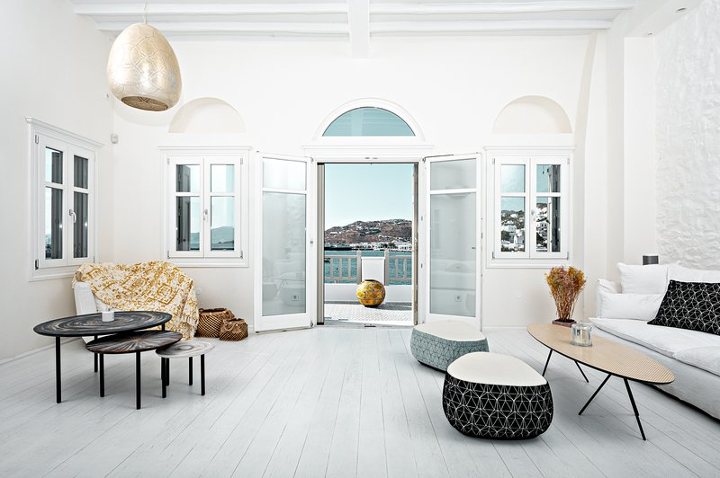 Pnoe Seafront Residence Mykonos, aluguéis de temporada em Míconos