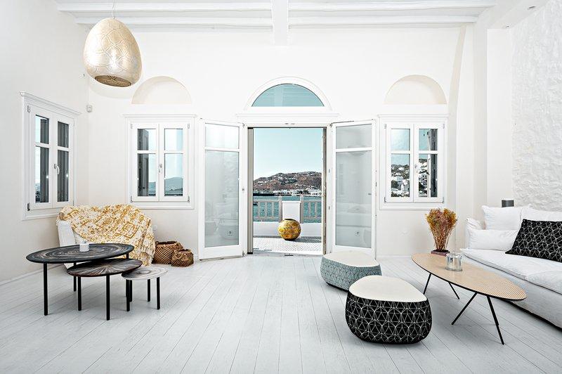 Pnoe Seafront Residence Mykonos, location de vacances à Mykonos