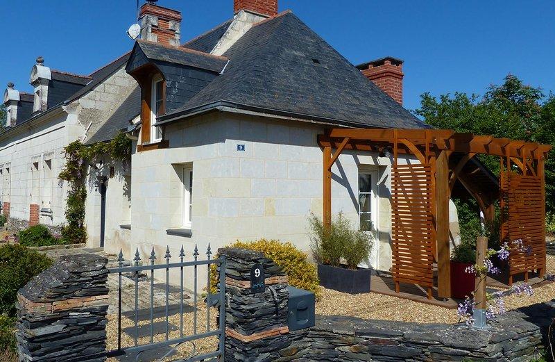Gîte Pergoloire, nature et bords de Loire, alquiler vacacional en La Bohalle