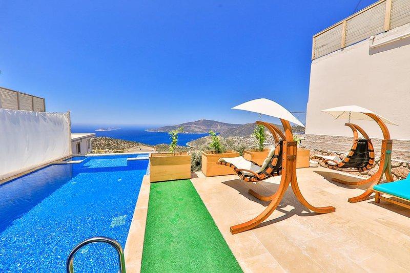 2 BEDROOMS VİLLA ONNO, holiday rental in Bezirgan