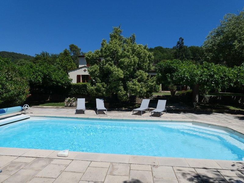 Les Oliviers, location de vacances à Montauroux